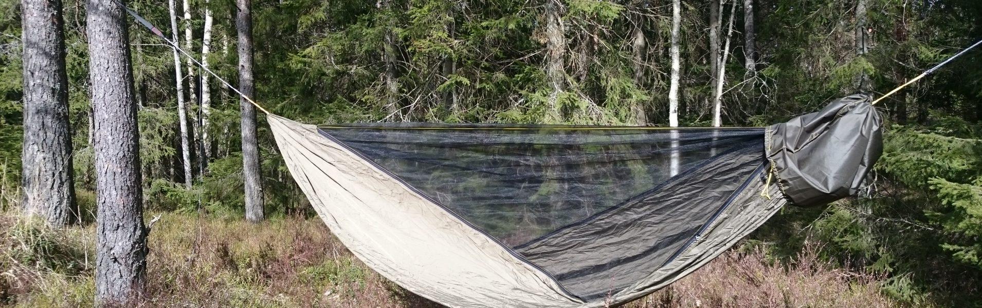 Hengekøye med avtagbart myggnett – fjerde og siste kapittel